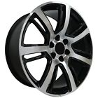 Set of 4 Wheels 22 inch Black Machined Rims fits 6x139.7 ET31 CB78.1