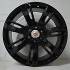 Set of 4 Wheels 22 inch Gloss Black Rims fits 6x139.7 ET31 CB78.1