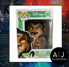 Funko Pop! Disney Lion King Scar Retired Vaulted Exclusive HTF Figure
