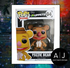 Funko Pop! Disney The Muppets Fozzie Bear Retired Vaulted Exclusive HTF Figure