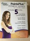 Weight Watchers Points Plus Fitness Series 5 DVD Set with Jennifer Cohen