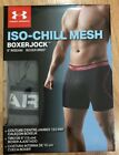 "UNDER ARMOUR BOXERJOCK Medium 30-32 Gray 6"" Inseam NEW!! ISO-CHILL"