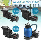 15HP 20HP Swimming Spa Pool Pump Motor Strainer Inground+035HP Pro 2450GPH