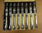Set 8 Gorham Lily Of The Valley Sterling Silver Knives 8-1/2