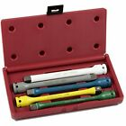 02450A 1/2 Torque Wrenches Drive Limiting Extension Bar Set, Cr-Mo Steel 5-Piece