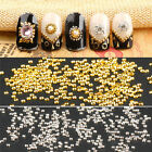 100Pc 3D Nail Art Mini Dot Studs UV Gel Rhinestone Gems Manicure Nil Art Decor