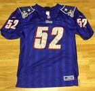 Adidas New England Patriots Ted Johnson Authentic Pro Line Jersey Size 52 RARE
