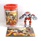 LEGO Bionicle Tahnok-Kal Set 8574 Complete Instructions Canister and Krana Mask