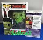 FUNKO POP! HULK Signed by STAN LEE W Green Marker JSA Authenticity!! Autograph