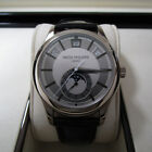 PATEK PHILIPPE ANNUAL CALENDAR WHITE GOLD 5205G-001 MOON PHASE GRAY COMPLETE