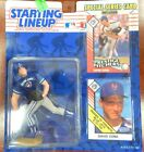 Starting Lineup 1993 MLB David Cone Figure and cards