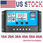 10 20 30A Dual USB Solar Panel Battery Regulator Charge Controller 12V 24V