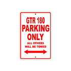 CPI GTR 180 Parking Only Towed Motorcycle Bike Aluminum Sign