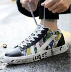 Mens Summer Casual Shoes High Top Lace up Breathable Sport Board Shoes Sneakers