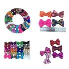 """25pcs 3"""" Hair Accessories Sequin Hairbows With Alligator Clips For Baby Girl NEW"""
