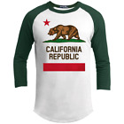 California, Flag, Republic, Bear, Los Angeles, Sacramento, San Francisco, T-shir