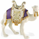Lenox First Blessing Camel Figurine Nativity Standing Purple Pad Christmas NEW