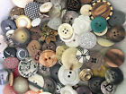 SWEETEST MIX 100 pcs MIXED LOT of OLD VINTAGE  NEW Buttons ALL TYPES  SIZES