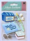 NIP BABYS FIRST TOOTH THEMED JOLEES BOUTIQUE STICKERS TOOTH FAIRY TOOTHBRUSH