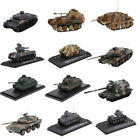 132 172 Scale Diecast Military US UK German Tank Vehicle Model Collectibles