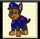 Paw Patrol Embroidered Iron On Patches