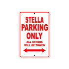 GENUINE SCOOTER COMPANY STELLA Parking Only Motorcycle Bike Aluminum Sign