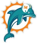 Miami Dolphins NFL Logo Vinyl Decal Sticker You Pick Size