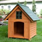 Dog House Pet Wood Outdoor Shelter Wooden Large Weather Cage Home Resistant New