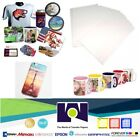 100 Sheets 85x11 Dye Sublimation Heat Transfer Paper for Mug Cup Plate T Shirt