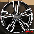 20 inch 433 Style Wheels Black Machined Fits BMW 3 4 5 6 Series M3 M4 M5 M6