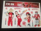 MELBOURNE RENEGADES CRICKET TEAM OFFICIAL STICKER FREE POST AARON FINCH