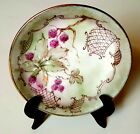 Hand-painted Porcelain Plate with - Raspberries