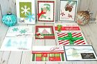 CHRISTMAS GREETING CARDS Handmade Lot of 10 Stampin Up  More HOLIDAY New