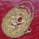 Alishaev 10k yellow gold necklace 160 Singapore link chain vintage 062gr