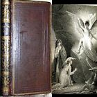1819 A FATHERS GIFT TO HIS CHILDREN MINI LEATHER CHRISTIAN RELIGION JESUS BIBLE