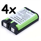 4x 800mAh Phone Battery for Panasonic HHR P107 HHRP107 HHRP107A 1B BB GT1500
