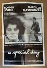 A SPECIAL DAY 1977 Original 27 x 41 One sheet movie poster folded Sophia Loren