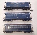 BACHMANN G SCALE ROYAL BLUE NY PHILY BALT WASH 820 1051 1063 CARS