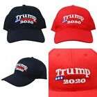 Trump 2020 President Make America Great Again MAGA Baseball Cap Hat Red Black