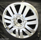 20 NEW FORD EDGE CHROME CLAD REPLACEMENT WHEEL FOR 2008 2009 2010 RIM 3701