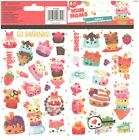 2 Sheets of Num Noms Stickers by Sandy Lion