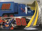 Nascar Authentics Superman National Guard Collector Hauler Diecast Truck 88 JR