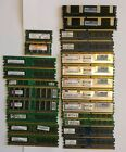 23 stick lot of assorted DDR2 RAM sold as seen spare computer parts