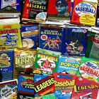300 Unopened Baseball Cards Collection in Factory Sealed Packs of Vintage MLB
