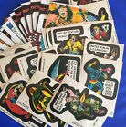 Lot of 30 total -1976 TOPPS MARVEL SUPER HEROES STICKERS & CHECKLISTS
