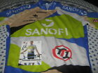 SANOFI TYPE 1 COLNAGO TEAM ISSUED PROFESSIONAL CYCLING JERSEY CYCLISME MAILLOT