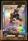 TODD GURLEY 25 25 ON-CARD AUTOGRAPH ROOKIE REFRACTOR 2015 TOPPS CHROME AUTO RC!