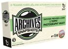 2017 Topps Archives Snapshots Baseball Box Factory Sealed Online Exclusive