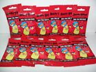 ANGRY BIRDS SERIES 1 DOG TAG FUN PACK LOT OF (12) NEW SEALED PACKS