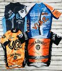Lot Of 4 Mens Club Cut Full Zip Cycling Jersey Size Small Jack Daniels Old No 7